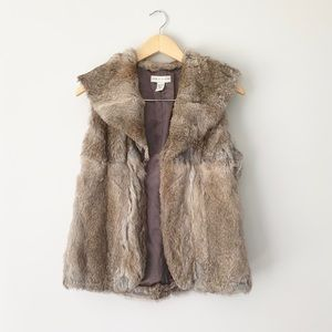Lord & Taylor Rabbit Fur Vest